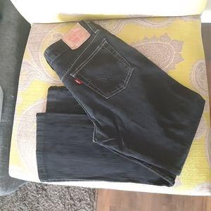 Levi's superlow boot cut size 7S